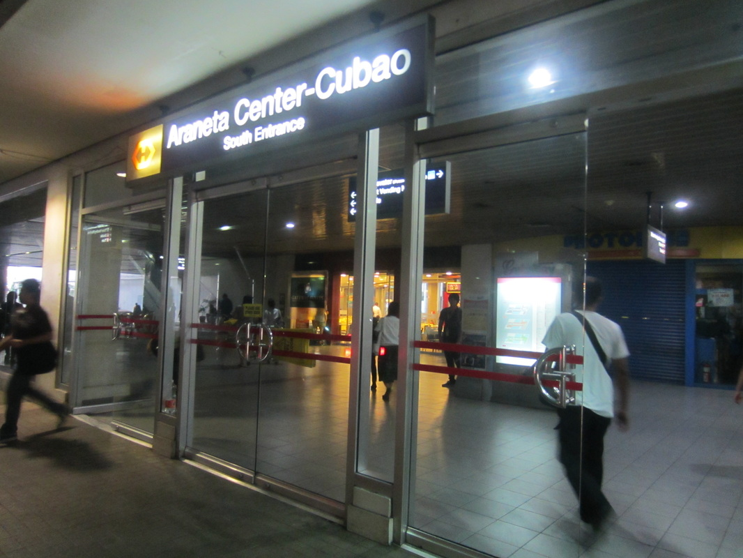 Cubao Araneta Map at Araneta Center-cubao